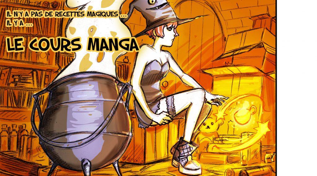 Cours manga